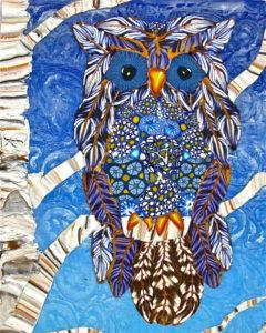Laura Burlis: Winter Solstice Owl